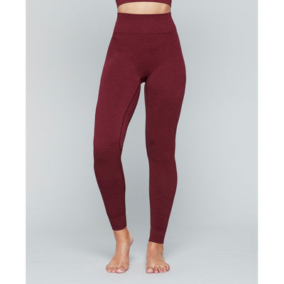 Moonchild Seamless Legging - Deepest Red