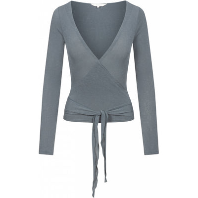 Gai+Lisva Anne Top - Petrol Grey