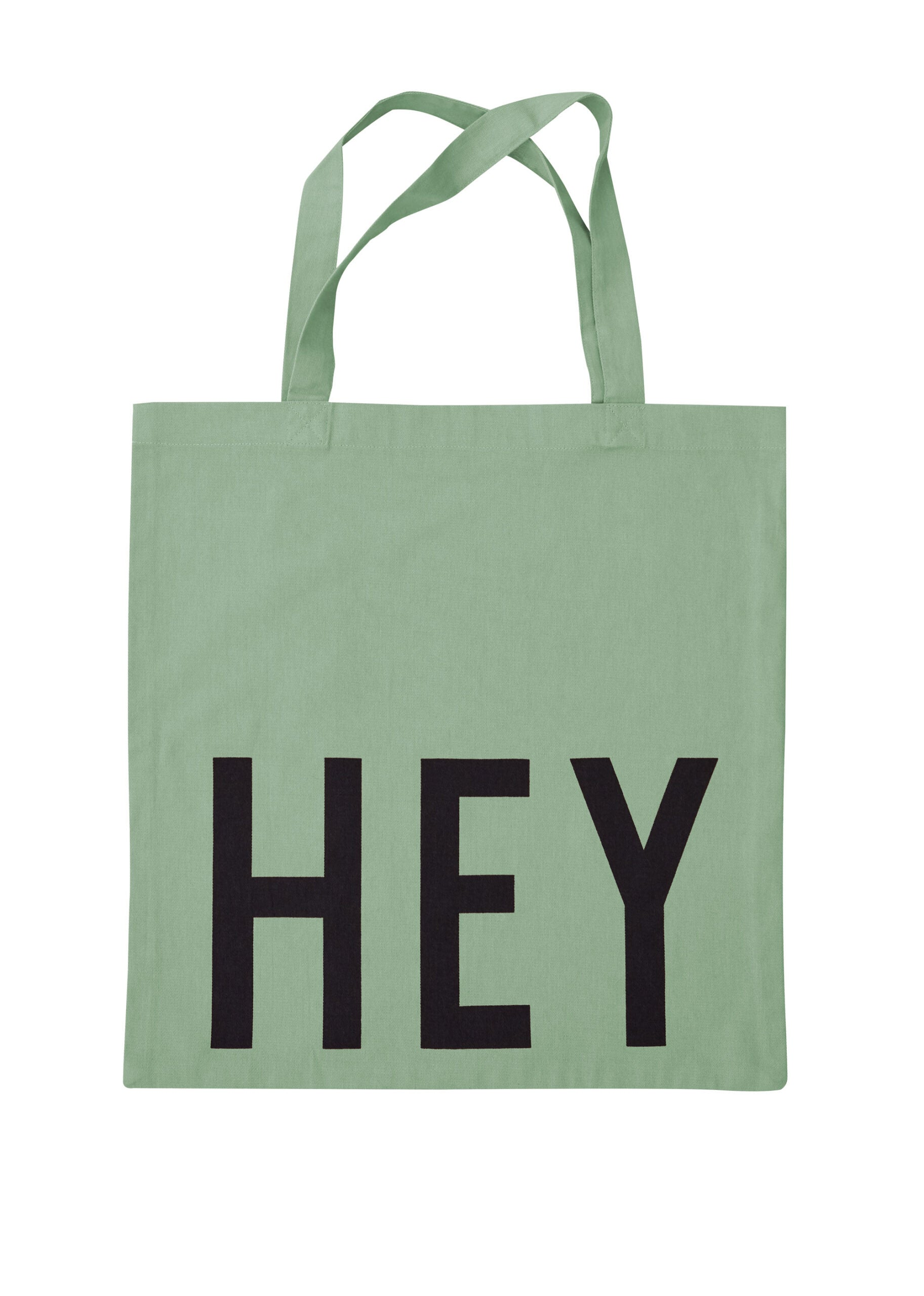 Tote Bag - HEY - green
