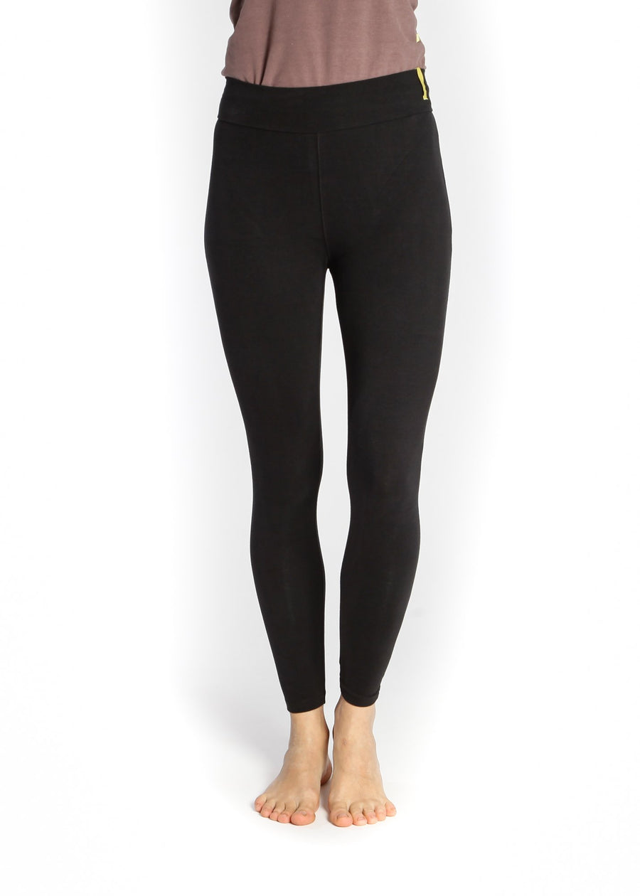 Økologisk Lilly Basic Legging - Sort