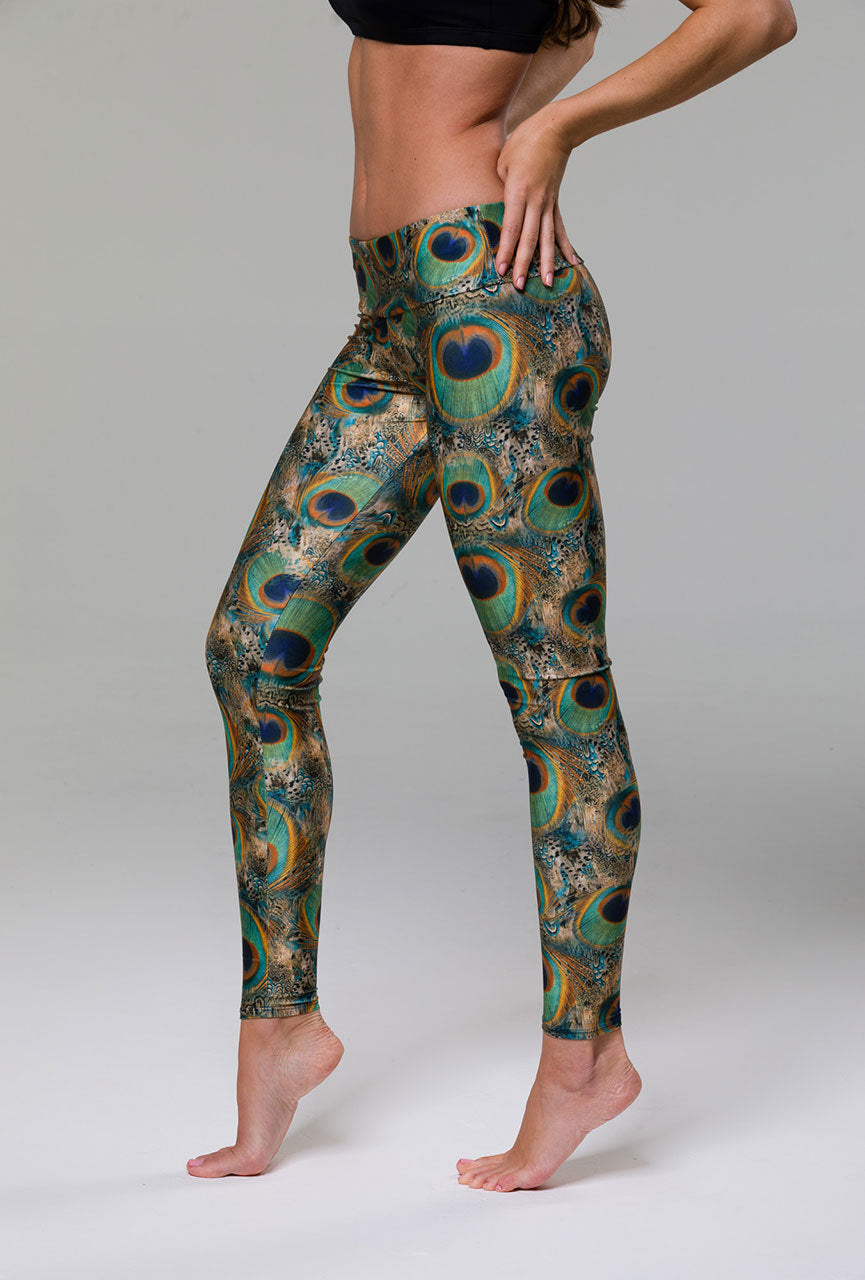 Onzie Long Leggins Peacock Green Se De Flotte Leggins