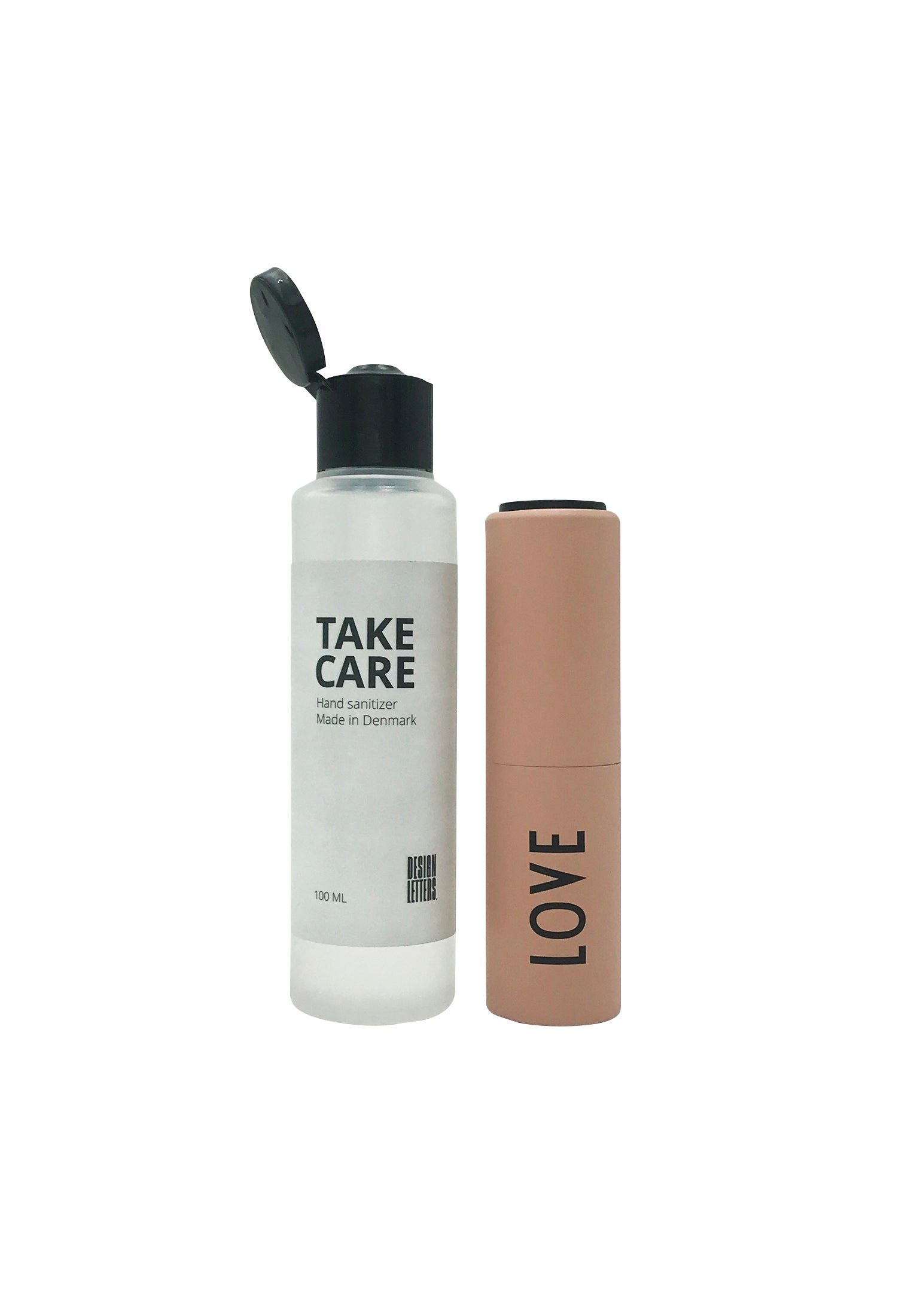 Hand Sanitizer - Love - Nude