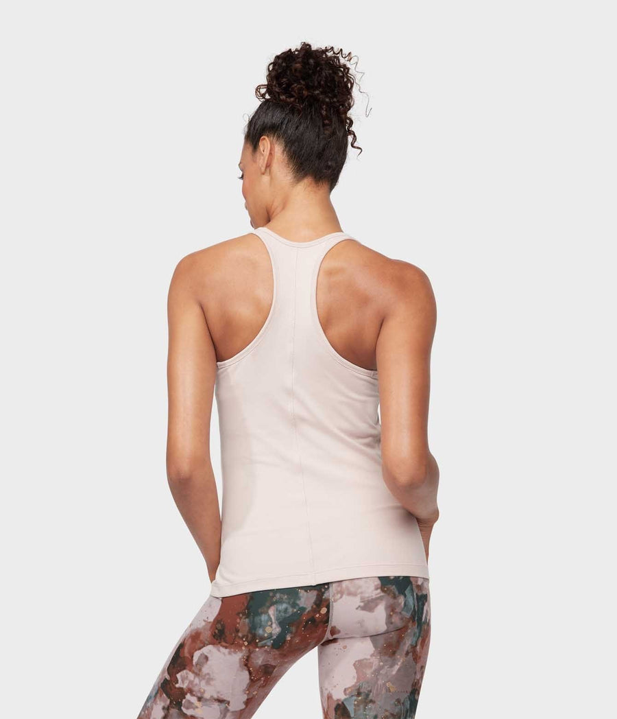 Anywhere Racerback Cami - Bark
