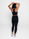 High Rise Long Legging - Black