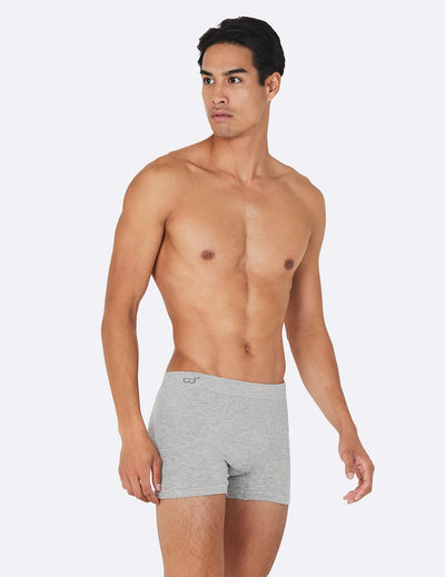 Men´s boxers - Light grey marl