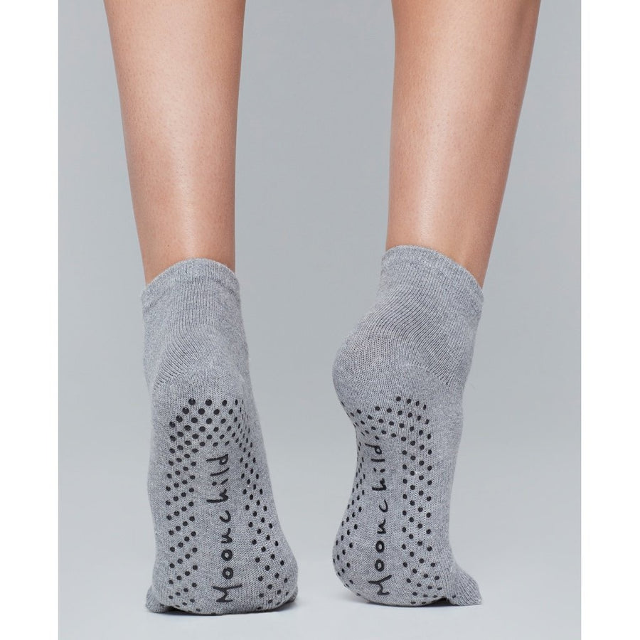 Moonchild Grip Socks - Grey Ankel