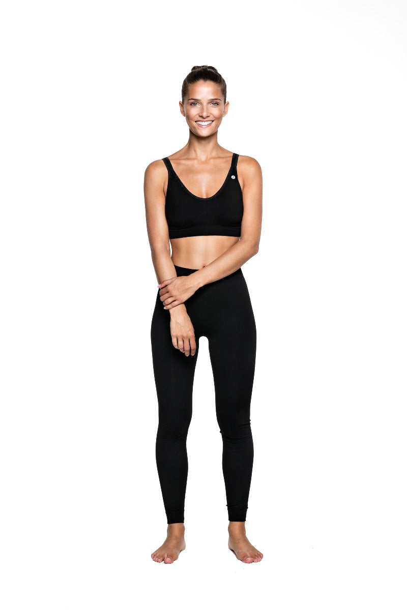 Bandha Bamboo Tights - Beautiful Black