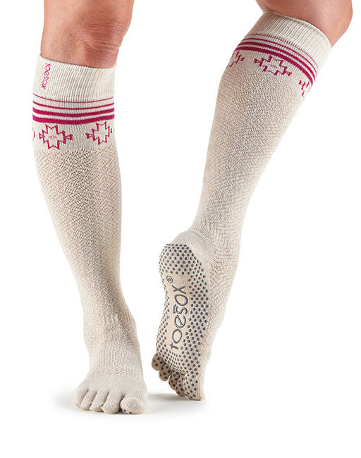 Toesox Fulltoe Scrunch Knee  High - Ritual