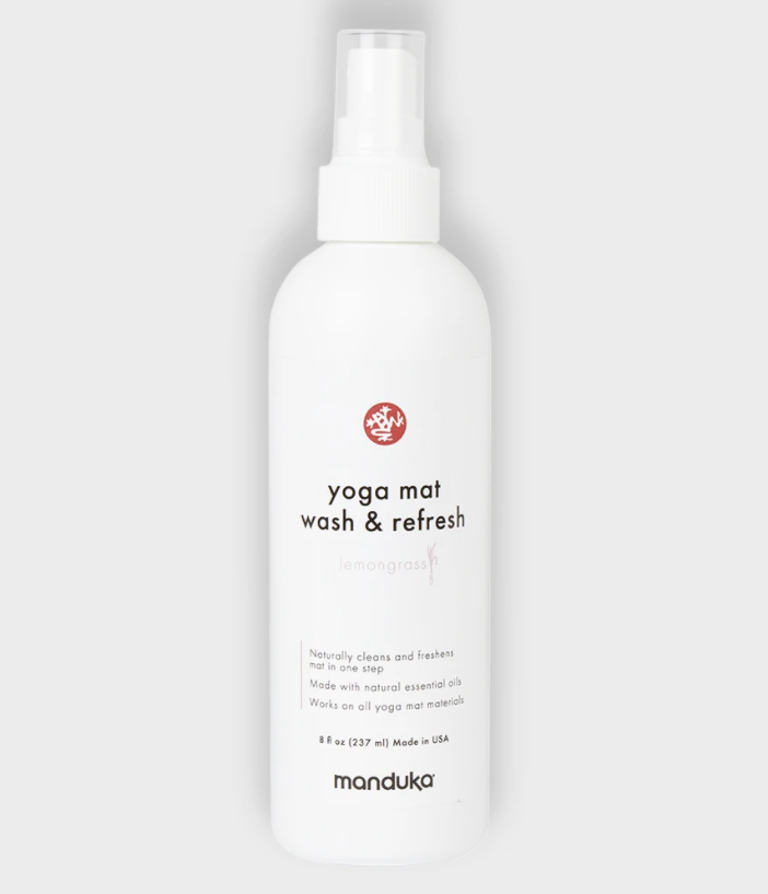 MAT WASH - WASH AND REFRESH 237 ml. Spray til Manduka PRO yogamåtter. Mellem