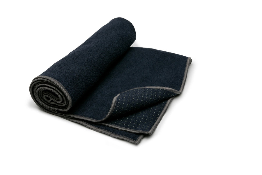 YOGITOES HOT YOGA TOWEL - Midnight
