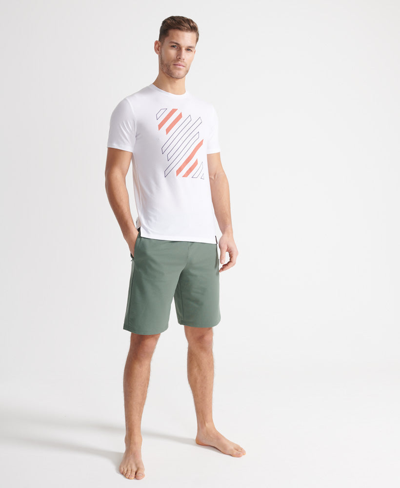 Men Flex Shorts - Military Duck