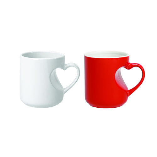 12 oz Lover's Mug (Red/White),[wholesale],[Simply+Green Solutions]