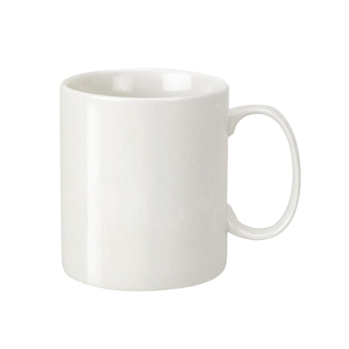Blank 18 oz Porcelain C-Handle Mug,[wholesale],[Simply+Green Solutions]