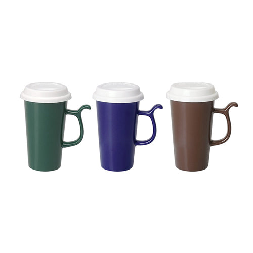 13 oz Ceramic Travel Mugs W/lid,[wholesale],[Simply+Green Solutions]