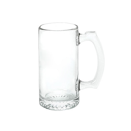 Blank 12.5 oz Glass Beer Mug (Made in USA),[wholesale],[Simply+Green Solutions]