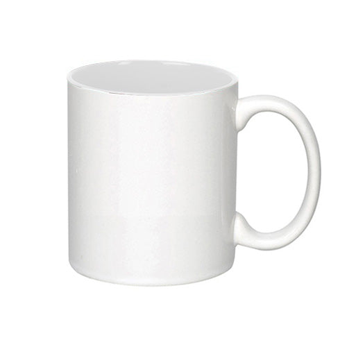 Blank 11 oz C-Handle Photo Sublimated Coffee Mug,[wholesale],[Simply+Green Solutions]