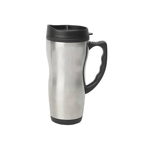 Blank 16 oz Travel Mug W/Plastic Liner,[wholesale],[Simply+Green Solutions]