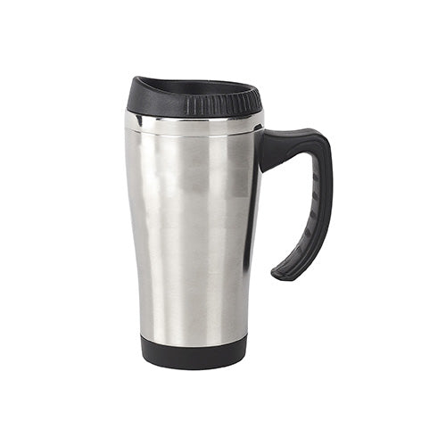 Blank 16 oz Travel Mug w/Stainless Steel Liner,[wholesale],[Simply+Green Solutions]
