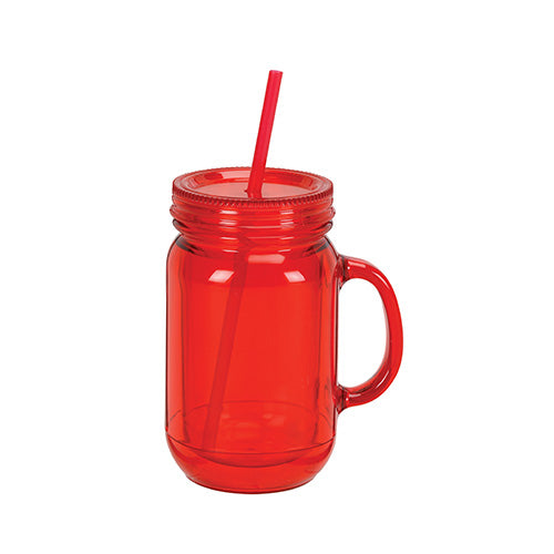 Blank 16 oz Double Wall Acrylic Mason Jar Mugs,[wholesale],[Simply+Green Solutions]