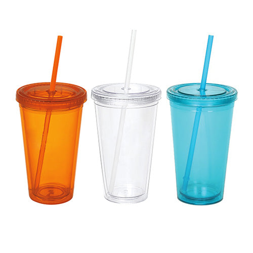 Blank 16 oz Double Walled Acrylic Tumblers,[wholesale],[Simply+Green Solutions]
