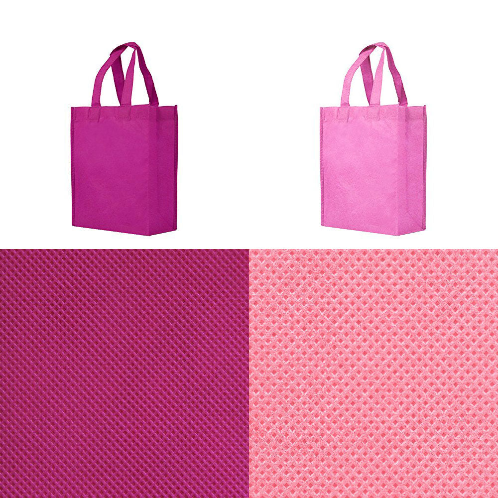 BLANK Gift Tote Assortment - Magenta, Pink - *Stocked in the USA* - CLOSE OUT