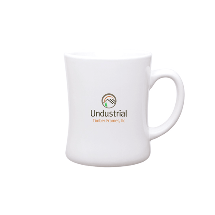 14 oz Luna Diner Ceramic Mug,[wholesale],[Simply+Green Solutions]