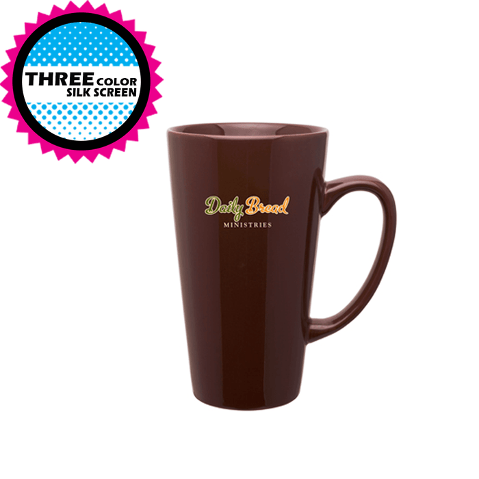 16 oz Ceramic Tall Latte Mug (Discontinued),[wholesale],[Simply+Green Solutions]