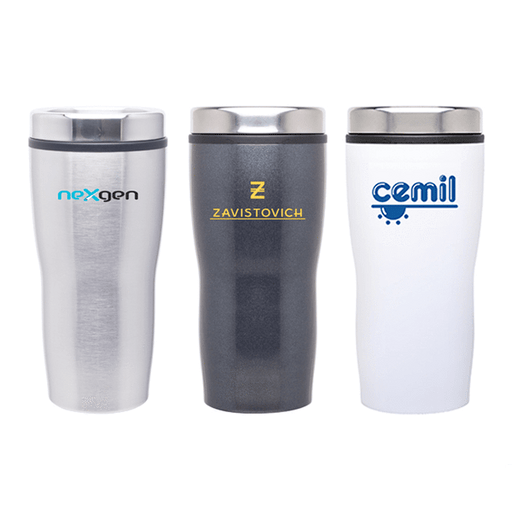 16 oz Stealth Stainless Steel Tumbler