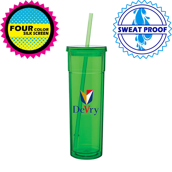 16 oz Double Walled Acrylic Torino Tumblers *Stocked in the USA*,[wholesale],[Simply+Green Solutions]