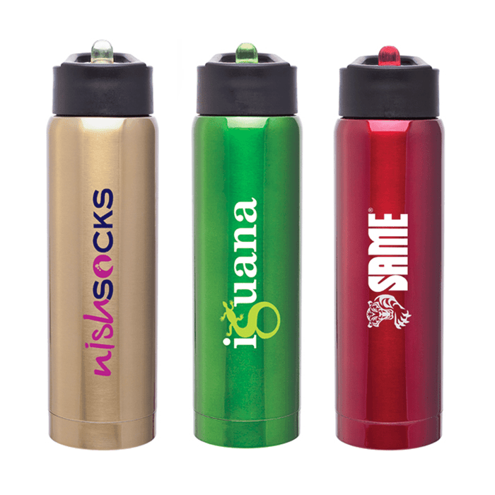 17 oz Double Walled 18/8 Stainless Steel h2go Arctic Water Bottle,[wholesale],[Simply+Green Solutions]