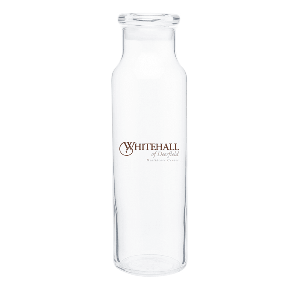 22 oz Clear Glass Vibe Water Bottle,[wholesale],[Simply+Green Solutions]