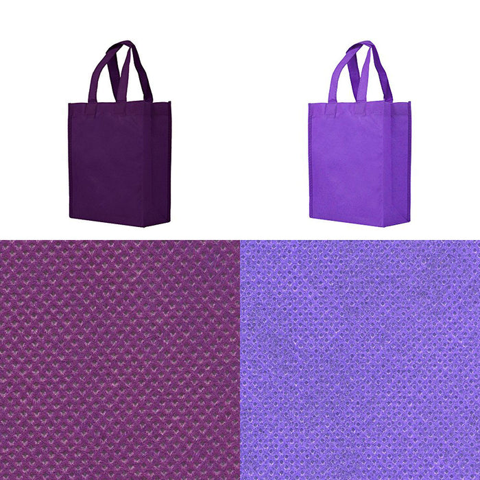 BLANK Gift Tote Assortment - Purple, Deep Purple - *Stocked in the USA* - CLOSE OUT
