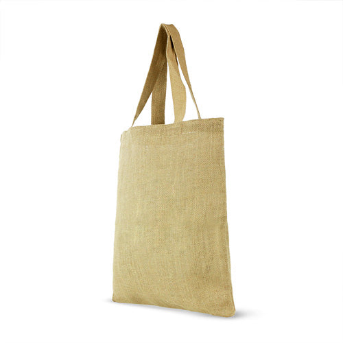 Jute Shopping Bag with cotton webbed handles - Blank,[wholesale],[Simply+Green Solutions]