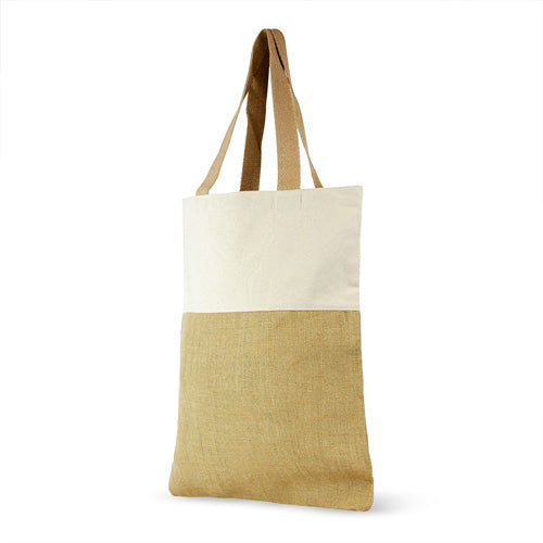 Jute and Cotton Shopping Bag,[wholesale],[Simply+Green Solutions]