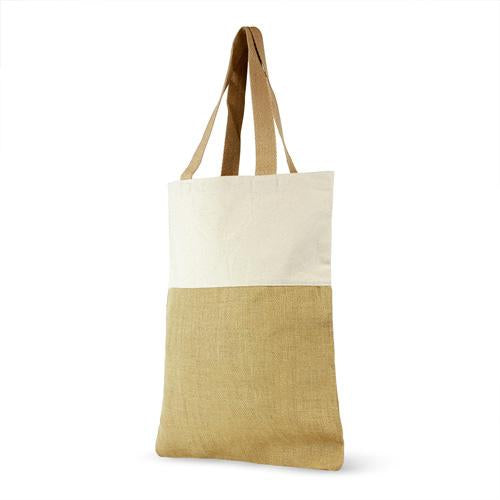 BLANK Jute and Cotton Shopping Bag - 49 Pack - CLOSE OUT