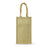 Blank 4 Bottle Jute Wine Bag with cotton webbed handles,[wholesale],[Simply+Green Solutions]