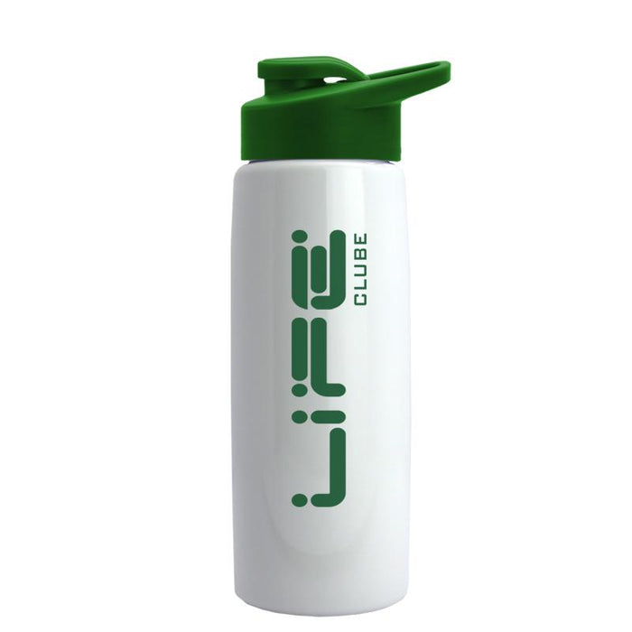 26 oz Metallic Flair Bottle with Drink Thru Lid ,[wholesale],[Simply+Green Solutions]