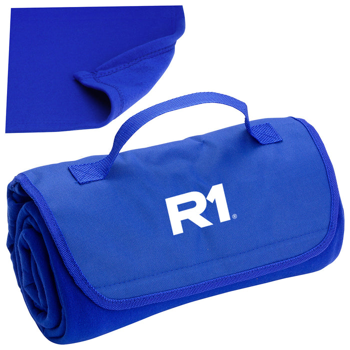 R1  Deluxe Barrel Fleece Blanket