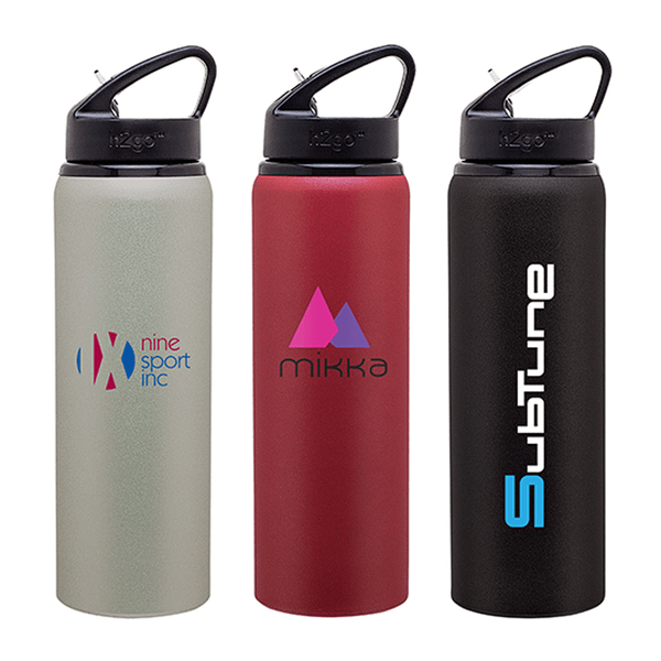 28 oz H2go Allure Aluminium Bottle,[wholesale],[Simply+Green Solutions]
