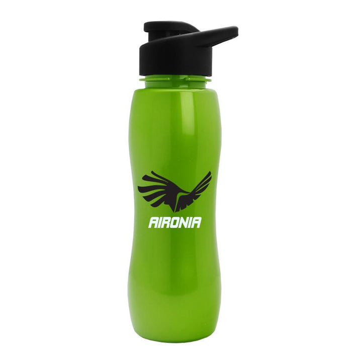 25 oz Metalike Bottle with Drink-Thru Lid,[wholesale],[Simply+Green Solutions]