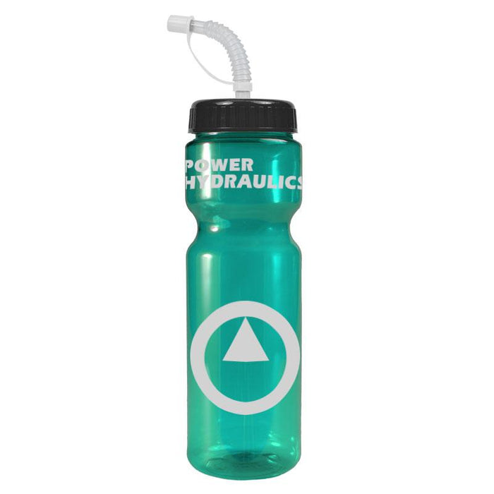 28 oz Champion Transparent w/ Straw Lid ,[wholesale],[Simply+Green Solutions]