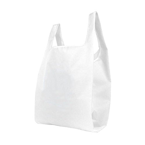 BLANK Nylon T-shirt Reusable bag *Stocked in the USA* - 40 Pack - CLOSE OUT