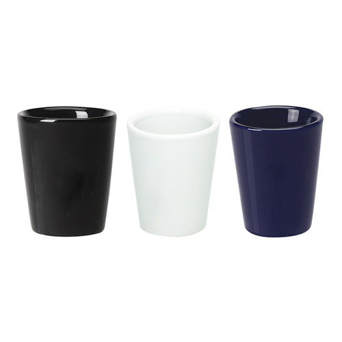 1-3/4 oz Ceramic Shot Glass ( 2-Tone),[wholesale],[Simply+Green Solutions]