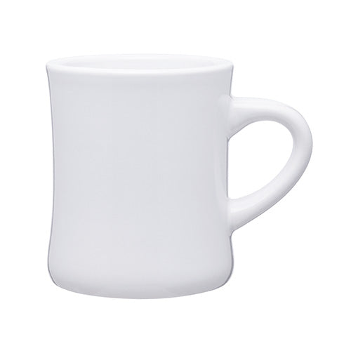 Blank 10 oz Diner Coffee Ceramic Mug,[wholesale],[Simply+Green Solutions]