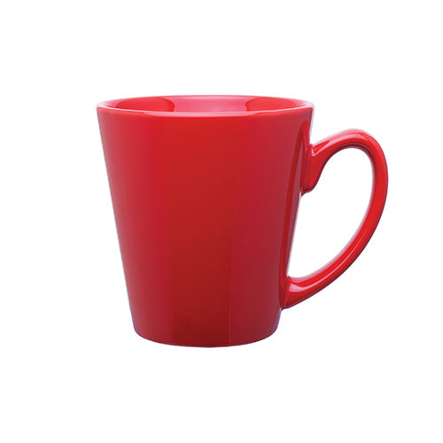 12 oz Mini Latte Ceramic Mug,[wholesale],[Simply+Green Solutions]