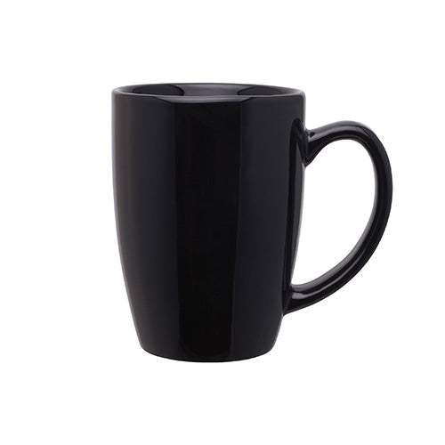 Blank 14 oz Contour Coffee Ceramic Mug,[wholesale],[Simply+Green Solutions]