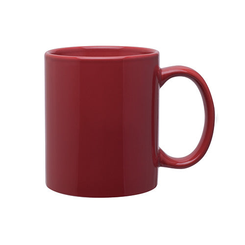 11 oz Glossy C-Handle Coffee Ceramic Mug,[wholesale],[Simply+Green Solutions]