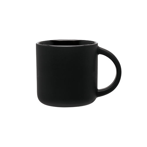 Blank 14 oz Minolo Coffee Ceramic Mug (Matte Black),[wholesale],[Simply+Green Solutions]