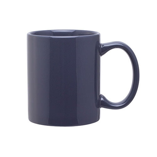 Blank 11 oz Glossy C-Handle Coffee Ceramic Mug,[wholesale],[Simply+Green Solutions]