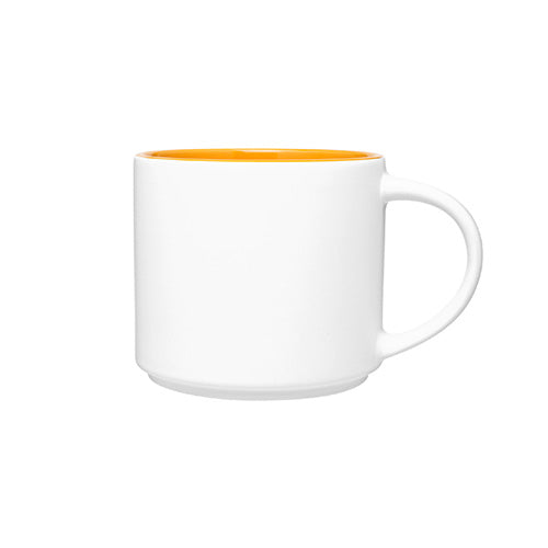 16 oz Monaco White Ceramic Mug,[wholesale],[Simply+Green Solutions]